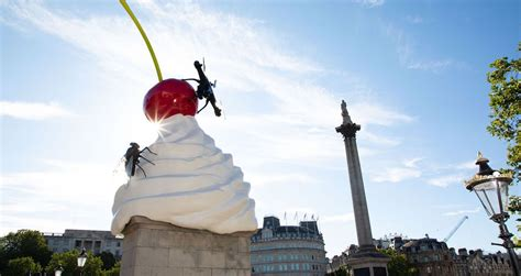 Heather Phillipson Quietly Unveils Fourth Plinth Commission