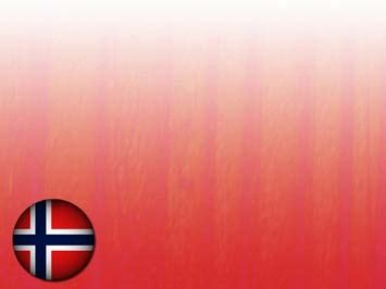 Norway Flag 05 PowerPoint Template
