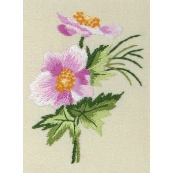Coats Crafts Oriental Anemone Freestyle Embroidery