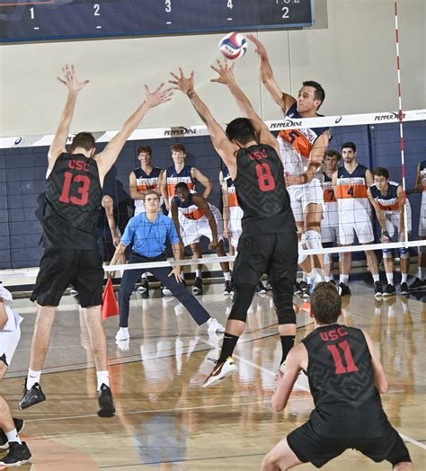 Four Pepperdine men's volleyball players finish with top
