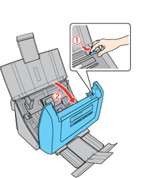 Cleaning Inside the Scanner