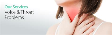 Voice & Throat Problems | A