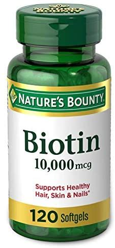 Biotin by Nature's Bounty, Vitamin Supplement, Supports