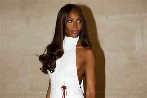 Naomi Campbell and Mowalola comment on that bullet hole