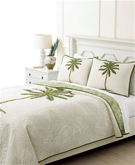 CLOSEOUT! Martha Stewart Collection Coconut Palm Quilts
