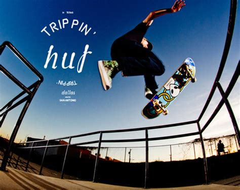 """The Skateboard Mag x HUF - """"Trippin' in Texas""""   Video"""