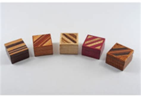 Exotic Wood Jewelry Boxes, Tableware & Urns by Kathy and