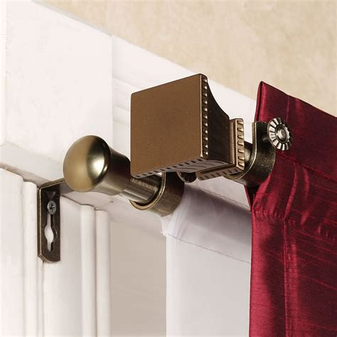 Sculpture of Magnetic Curtain Rods, Easy Way to Install