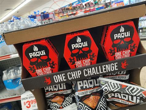 The One Chip Challenge Is Back & Everywhere