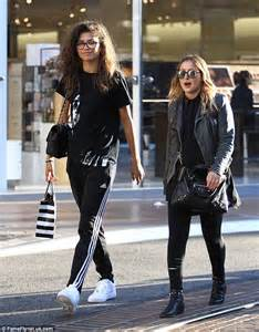 Zendaya shows off beauty as she dresses down in sporty