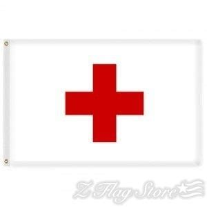 EMS Flags & Markers for Sale - Red Cross Flags   Z Flag Store
