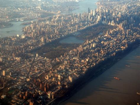 Photo entry: Aerial View of Central Park