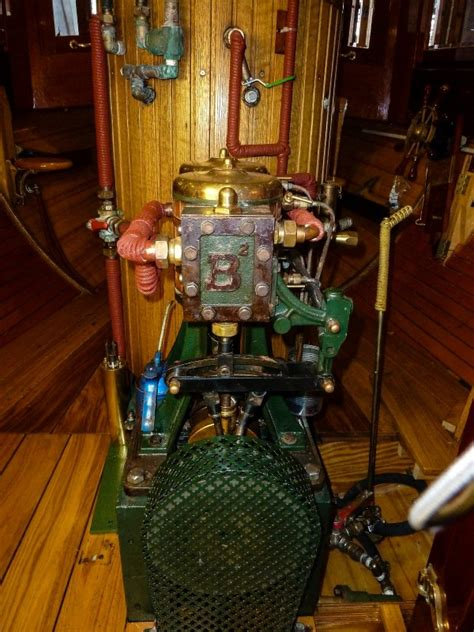 For Sale - Steam Launch wooden motor yacht