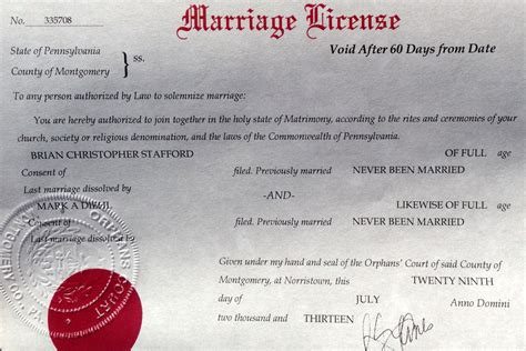 More JMG Readers Get Marriage License From Pennsylvania's
