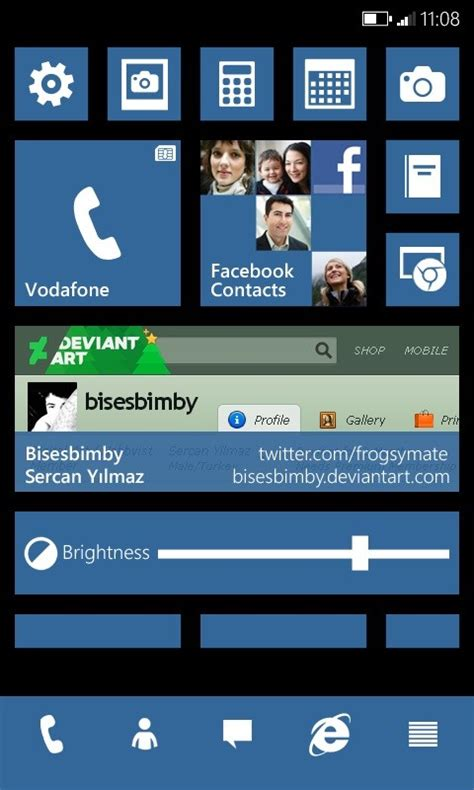 What If Microsoft Made Windows Phone 10 Look like This?