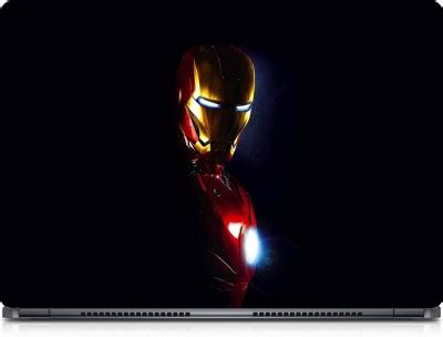 66% OFF on Solution Uncle Iron Man Side Face Vinyl Laptop