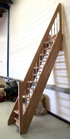 Bespoke Spacesaver stairs - Wooden Staircases made to