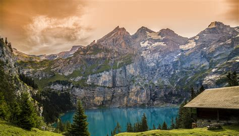 Brown and Gray White Mountain Under Cloudy Blue Sky · Free