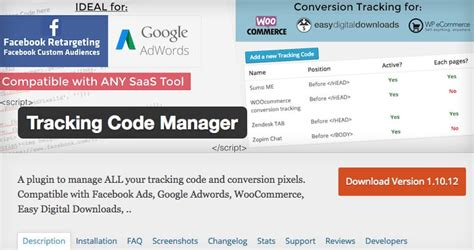 Tracking Code Manager - Artbees Multipurpose WordPress Themes
