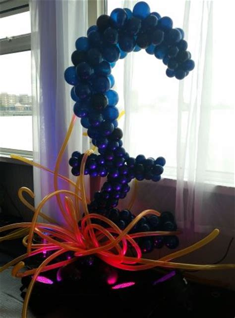 50th Birthday Party balloon decorations