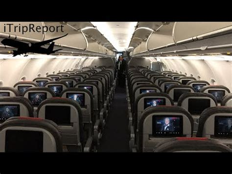 American Airlines A321 (A32B) First Class Review - YouTube
