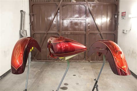 How to Paint a Two Stage Custom Paint Job - Candy & Pearls