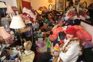 Hoarder faces eviction from THIRD flat because she has so