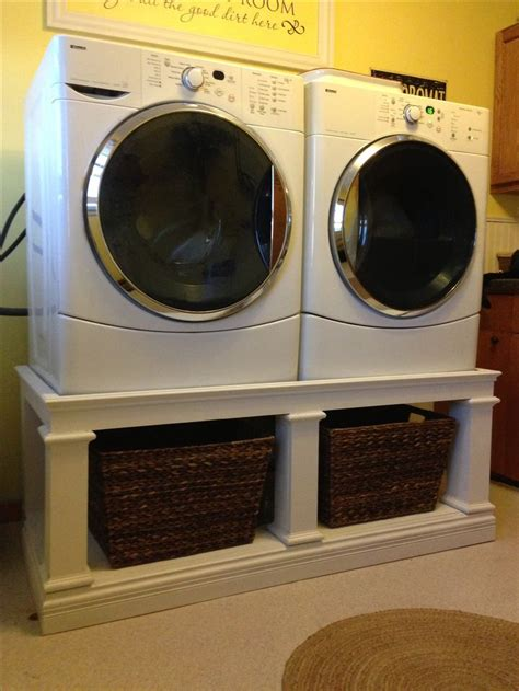 Front load washer & dryer stand! Great way to get your