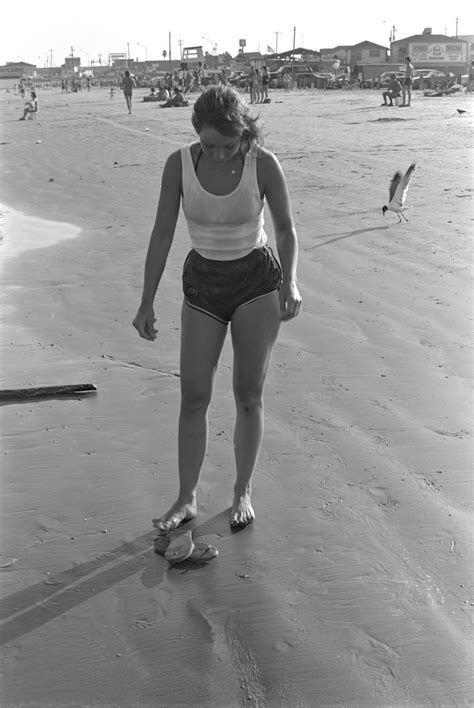 Candid Photographs of Teenage Girls at Texas Beaches