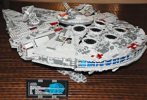 LEGO Releases The Ultimate Collector's Millennium Falcon