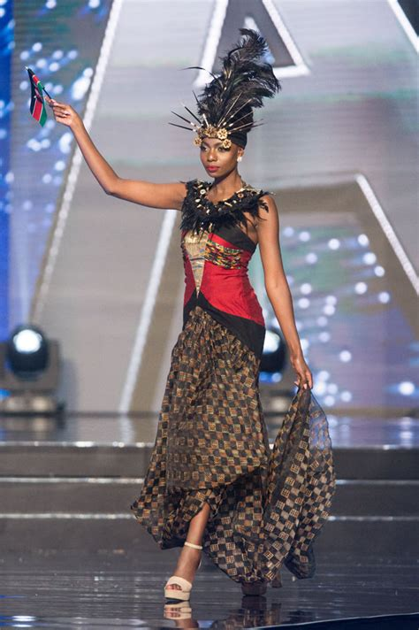 Miss Universe National Costumes 2016, Part 1: Shield