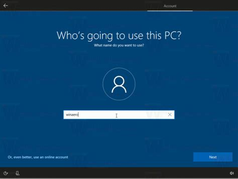 Install Windows 10 Creators Update Without Microsoft Account