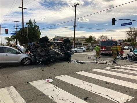 Fatal 4-Car Crash Leaves 3 Fighting For Their Lives In