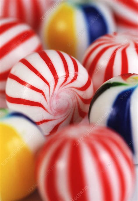 Boiled sweets - Stock Image - H110/2039 - Science Photo
