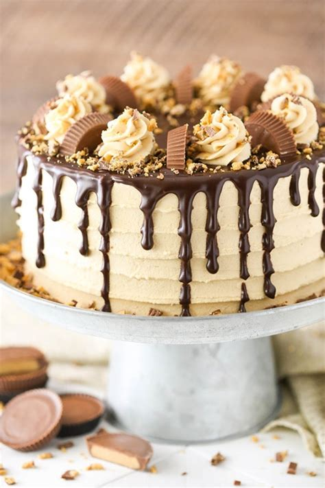 Peanut Butter Chocolate Layer Cake | KeepRecipes: Your