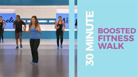 30 Minute Boosted Fitness Walk   Walk at Home - YouTube