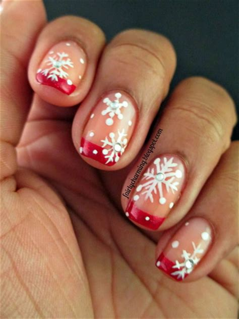 Nail designs for Christmas - yve-style