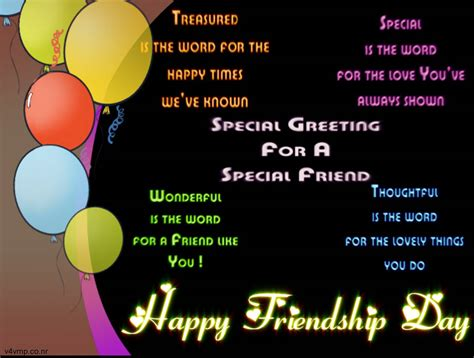 Happy Friendshipday Greeting Cards - Love Quotes Greeting