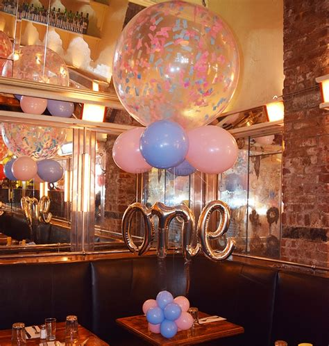 """BIRTHDAY BALLOON BOUQUETS : 36"""" Confetti Filled ONE"""
