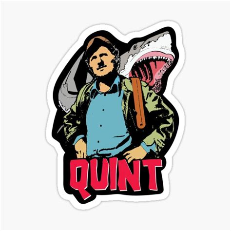 Quint Stickers | Redbubble
