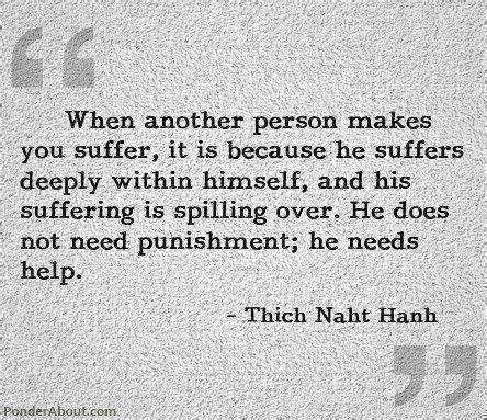 Image When another person makes you suffer