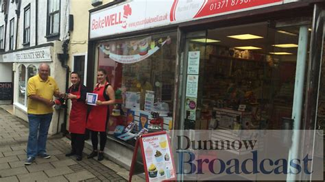 Bakewell is this year's winner of the Dunmow Shop Window