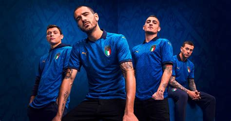 PUMA Launch Italy 2020/21 Home Shirt - SoccerBible