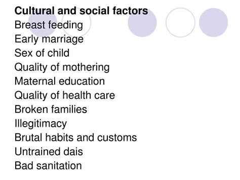 PPT - INDICATORS OF MATERNAL AND CHILD HEALTH CARE