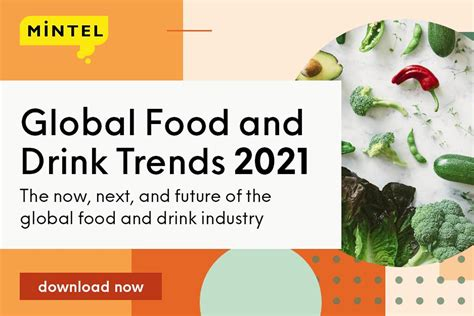 Mintel Announces Global Food and Drinks Trends for 2021