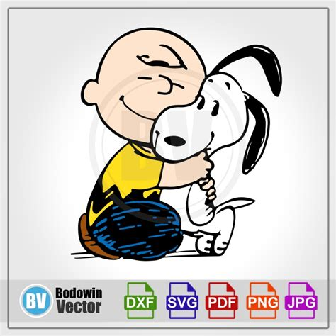 Charlie Brown and Snoopy SVG / Instant Download / Digital