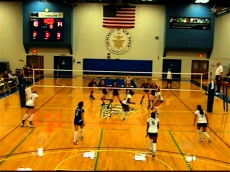 2010 University of New Haven Womens Volleyball Highlights