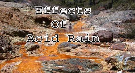 Effects of Acid Rain on Buildings, Monuments and Statues