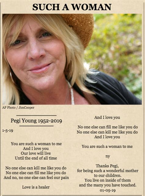 Neil Young shares tribute to late ex-wife Pegi Young with