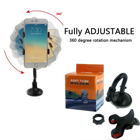 Universal Car Windshield Dashboard Suction Cup Phone Mount